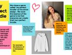 Kuvassa Jamboardin ideointiseinä: kuvia ja post-it-lappuja.